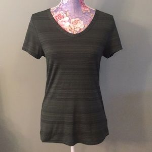 Lole Dark Green Athletic Top Medium Stretchy